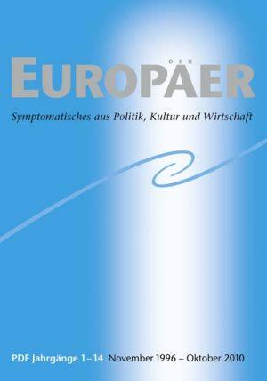 Der Europäer – CD der ersten vierzehn Jahrgänge